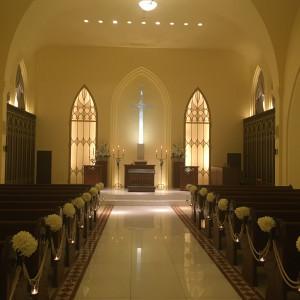 当日は生演奏との事です|550620さんの赤坂ル・アンジェ教会の写真(918848)