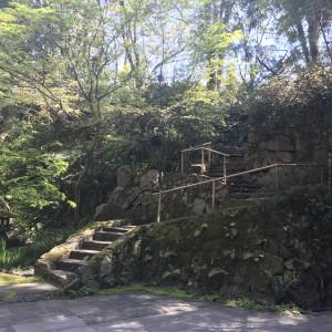 披露宴会場から見える庭|551399さんのハイアット リージェンシー 京都の写真(926959)