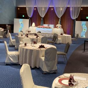 天井が高く広い。豪華。|552071さんの琵琶湖ホテルの写真(932431)