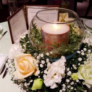 テーブル装花|553323さんのFORTUNE IN THE TERRACEの写真(941993)