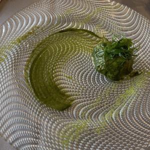 緑がテーマのお料理|554105さんのラソールガーデン大阪の写真(948749)