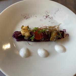 テーマの紫のお料理|554105さんのラソールガーデン大阪の写真(948742)