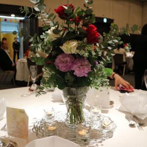 テーブル・装花 554660さんのホテル熊本テルサの写真(953656)
