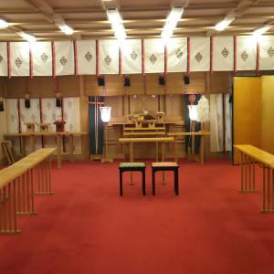御霊がぬいてあったので全体の写真をとることができた豪華|554752さんのホテルラポール千寿閣の写真(955559)