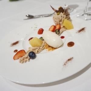 モンブランとりんごのアイス|554761さんのSt. GRAVISS(セントグラビス)の写真(954434)