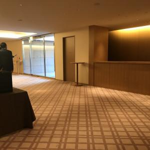 クロークは披露宴会場のすぐ向かいにあります|556001さんのハイアット リージェンシー 京都の写真(964030)