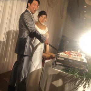 ケーキ入刀 556021さんのホテル熊本テルサの写真(964239)