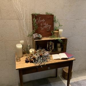 ウェルカムスペース。|556107さんのSakuranoki Wedding(さくらの樹ウエディング)の写真(971210)