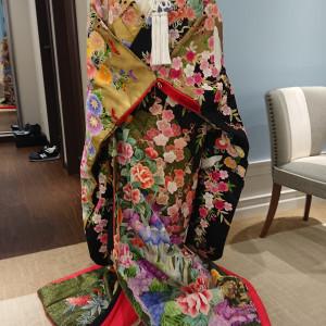 ドレスルームに飾ってありました。|556305さんの琵琶湖ホテルの写真(974681)