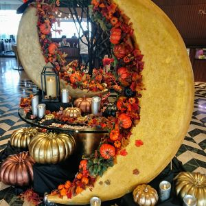 秋の季節のロビー|556305さんの琵琶湖ホテルの写真(974684)