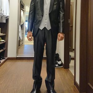 新郎のスーツの種類も豊富でした|556305さんの琵琶湖ホテルの写真(974689)