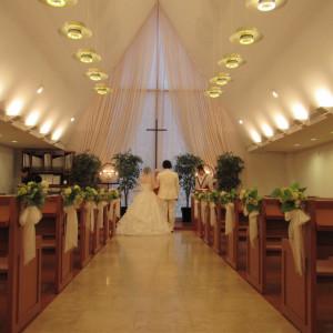 60人まで収容可能。キリスト教形式。 557417さんのRoyal Hotel 沖縄残波岬の写真(976946)