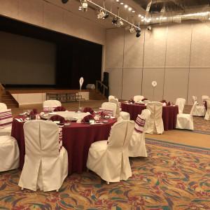 会場を2つに分け閑散としないようにしました。 557417さんのRoyal Hotel 沖縄残波岬の写真(976951)