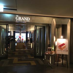 会場入り口|557667さんのTHE GRAND GINZA(ザ グラン銀座)の写真(1007423)