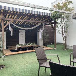 ガーデンの別視点です。|558115さんのLA TABLE Aoyama(ラ ターブル アオヤマ)の写真(982195)