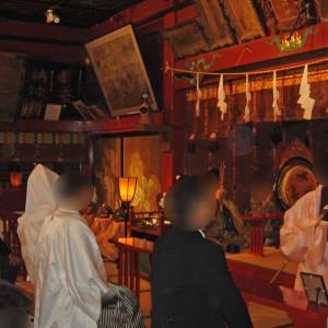 巫女の舞と雅楽の演奏|558267さんの冠稲荷神社 宮の森迎賓館 ティアラグリーンパレスの写真(992775)