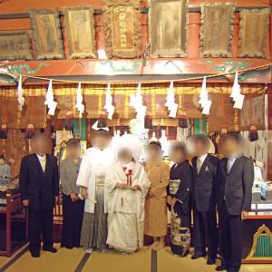 巫女の舞などを終えた後に一枚|558267さんの冠稲荷神社 宮の森迎賓館 ティアラグリーンパレスの写真(992772)