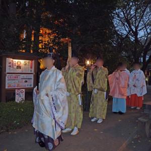 巫女さんなどとの参進|558267さんの冠稲荷神社 宮の森迎賓館 ティアラグリーンパレスの写真(992767)