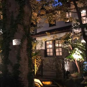 夜の外観|559744さんの旧石丸邸 GARDEN TERRACE HIROO(旧:ラッセンブリ広尾)の写真(1008594)