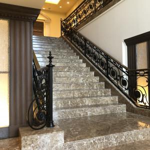 チャペル前の大階段|560195さんの赤坂ル・アンジェ教会の写真(1062469)