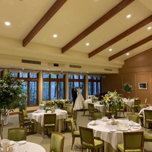 緑が見える空間です。 561859さんのホテル軽井沢エレガンス 「森のチャペル軽井沢礼拝堂」の写真(1021879)