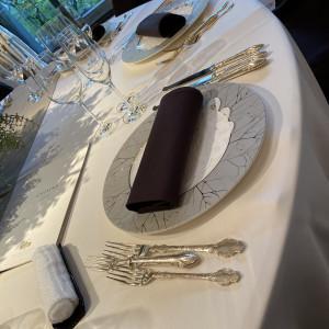 テーブルコーデは自分で好きな色を選べる|568724さんの高輪 貴賓館(グランドプリンスホテル高輪)の写真(1088541)