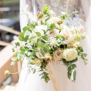 8Gさん提携のフローリストさんにお願いしました♡|568779さんの8G Horie RiverTerrace Weddingの写真(1085127)