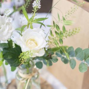 8Gさん提携のフローリストさんにお願いしました♡|568779さんの8G Horie RiverTerrace Weddingの写真(1085126)