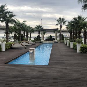 プールがついててリゾート気分|568828さんのコットンハーバークラブ(横浜)の写真(1085359)