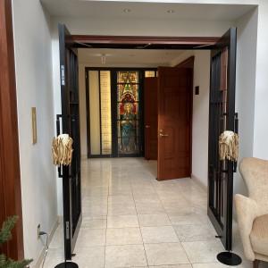 チャペル入り口 575974さんのメイヤー・ライニンガー記念礼拝堂の写真(1133335)