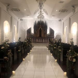 印象的な祭壇 578970さんのSt. GRAVISS(セントグラビス)の写真(1153663)
