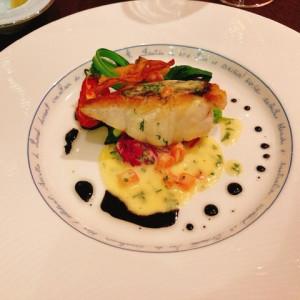 メインのお魚料理 579446さんの赤坂ル・アンジェ教会の写真(1157083)