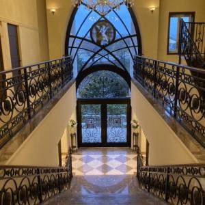 室内の大階段です 579446さんの赤坂ル・アンジェ教会の写真(1157080)