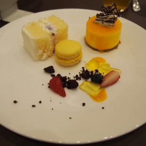 ケーキ、マカロン 586060さんのアクアテラス迎賓館(新横浜)の写真(1204746)