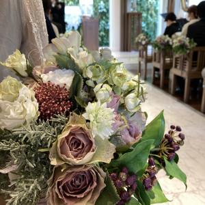 挙式、お花 586060さんのアクアテラス迎賓館(新横浜)の写真(1204753)
