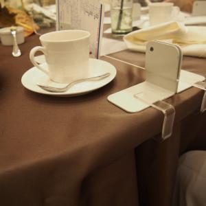 テーブル、パーテーション 586060さんのアクアテラス迎賓館(新横浜)の写真(1204748)