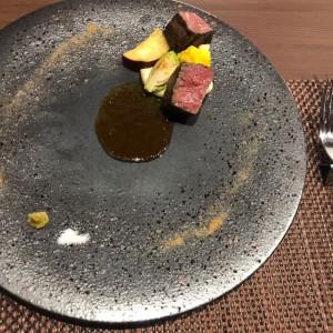 岩塩が柔らかい肉によく合いました|588019さんのSHOHAKUEN HOTEL 松柏園ホテルの写真(1224578)