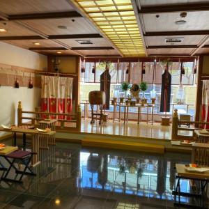 館内神殿は後ろから光がさします|588019さんのSHOHAKUEN HOTEL 松柏園ホテルの写真(1224566)