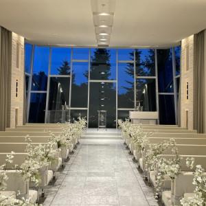 カーテンを開けたバージョン|592507さんのヒルサイドクラブ迎賓館(札幌)の写真(1255349)