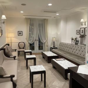 親族の控室がとても可愛かった!|592507さんのヒルサイドクラブ迎賓館(札幌)の写真(1255350)