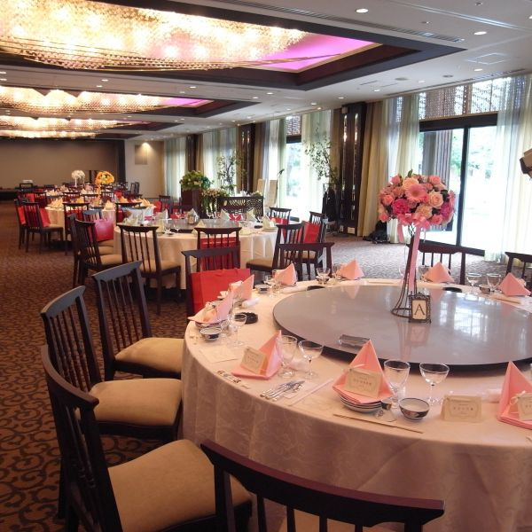 披露宴会場「桜の間」